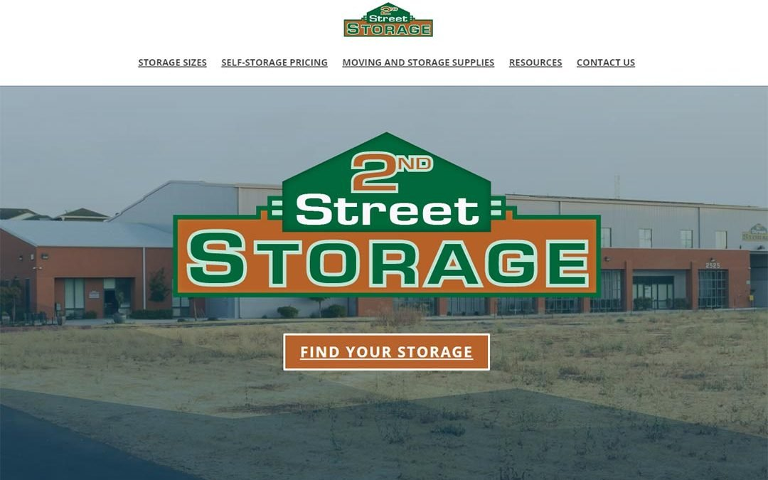 2nd Street Storage Logo – REWORK