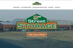 2nd Street Storage Logo Rework Sample