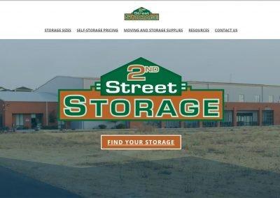 2nd Street Storage Logo – REWORK