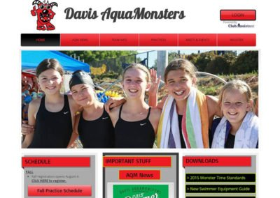 Davis Aquamonsters Swim Team