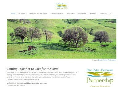 Blue Ridge Berryessa Partnership