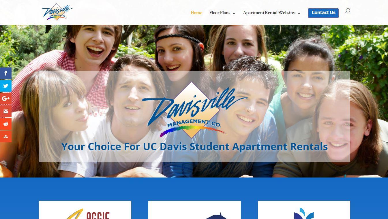 Screenshot of DavisApartmentsForRent.com