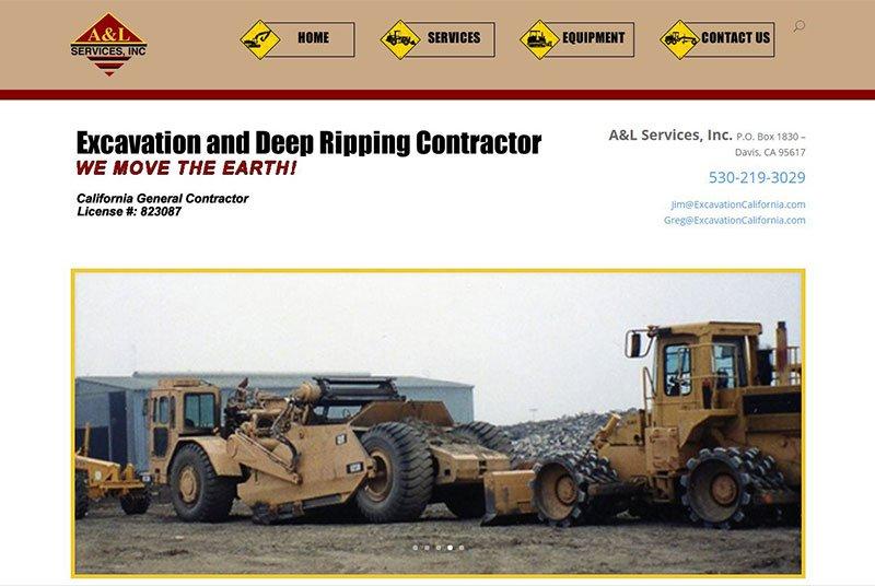 Excavation California Website