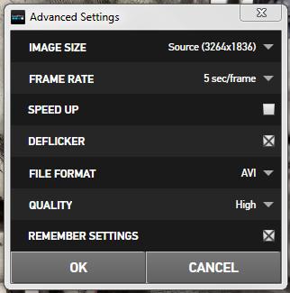 GoPro Convert Advanced Settings