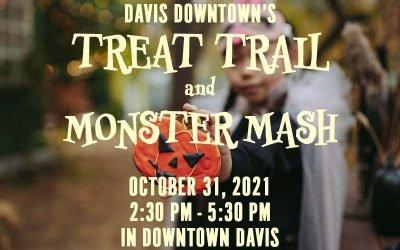 Davis Downtown Treat Trail [UPDATED 2021]