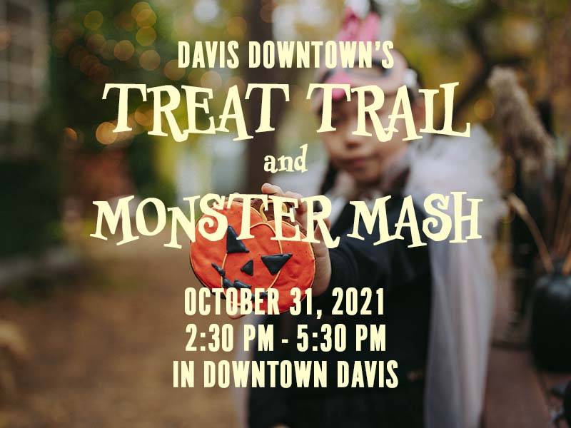 Davis Downtown Treat Trail October 31,