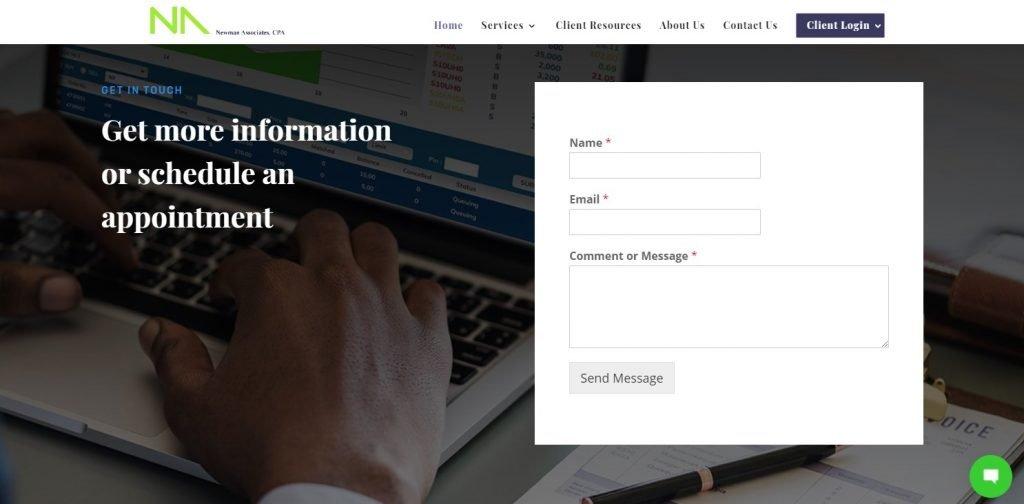 Newman Associates Contact Form