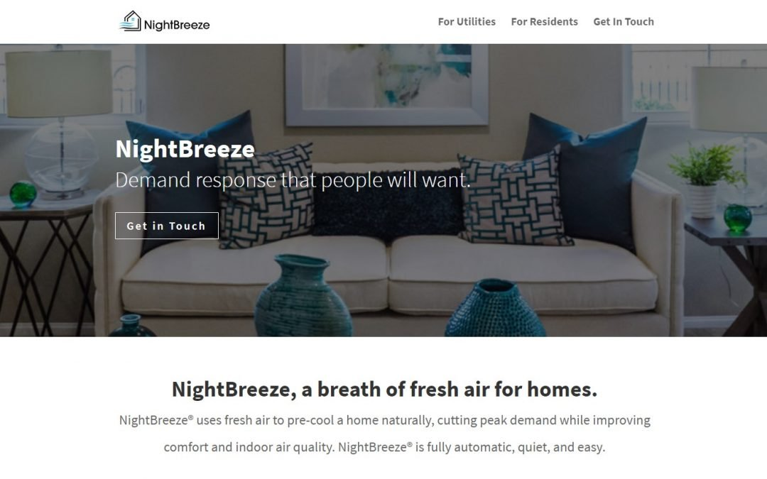 NightBreeze Inc – Pre-Cooling Systems