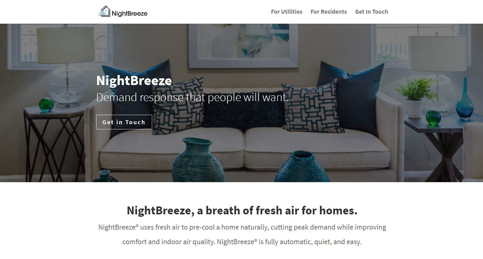 NightBreeze Pre-Cooling Systems