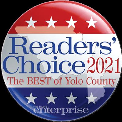 Best of Yolo County Readers' Choice Award