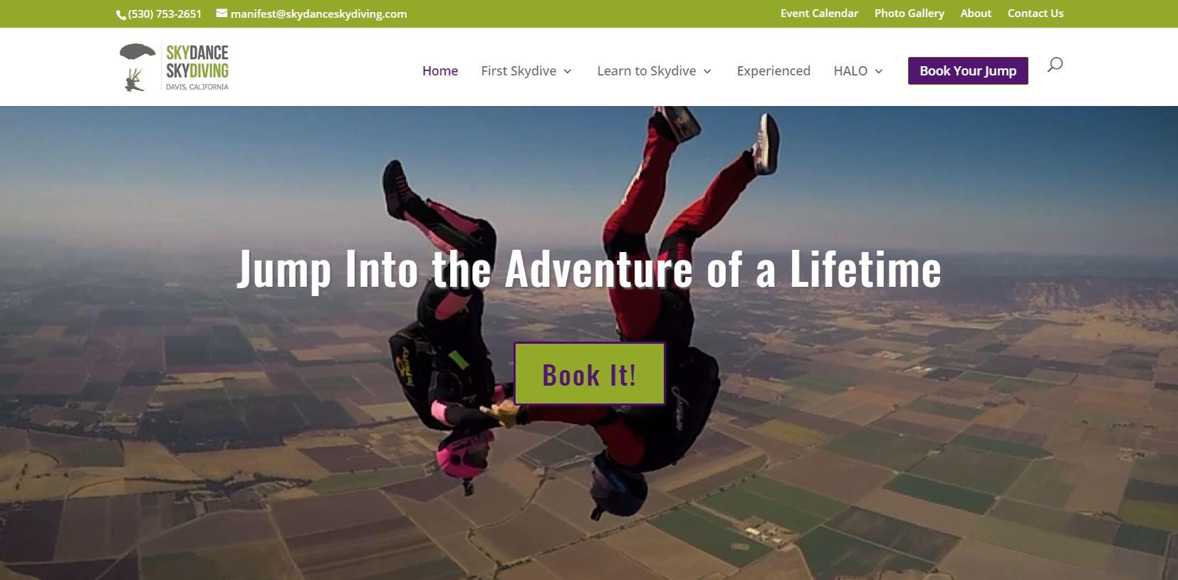 Skydance Skydiving in Yolo County