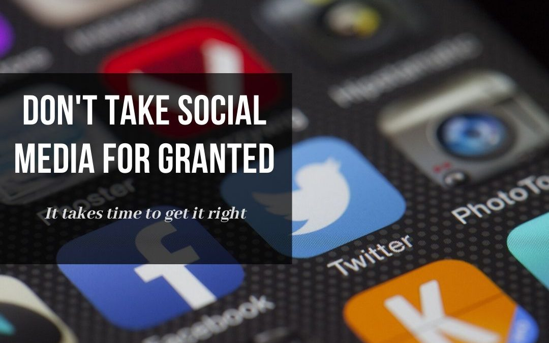 Small Business 2019 – Don't Take Social Media for Granted