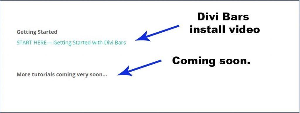 Image of Dive Life Knowledgebase for Divi Bars