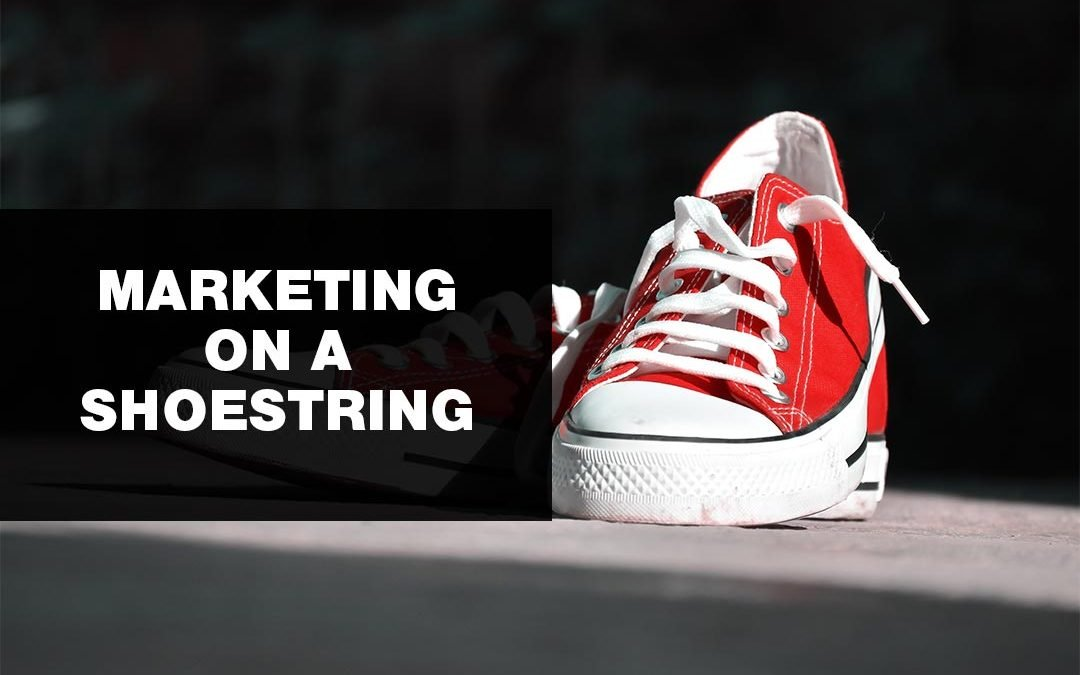 Marketing on a shoestring image